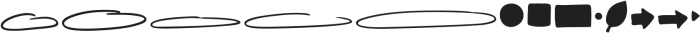 EasyNotes Extras otf (400) Font UPPERCASE