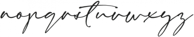 Eaton otf (400) Font LOWERCASE