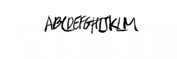 Earth Elements Type Font UPPERCASE