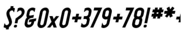 Earthman Basic BB  Bold Italic Font OTHER CHARS
