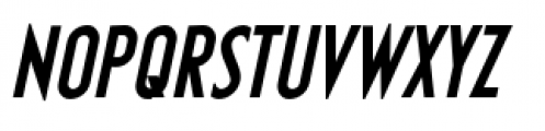 Earthman Basic BB  Bold Italic Font UPPERCASE
