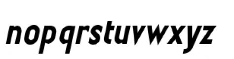 Earthman Basic BB  Bold Italic Font LOWERCASE