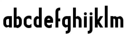 Earthman Basic BB  Bold Font LOWERCASE