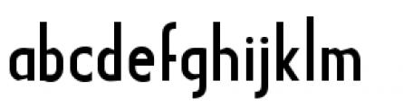 Earthman Basic BB  Regular Font LOWERCASE