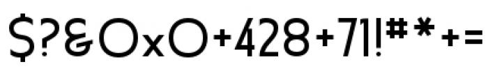 Earthman Ext BB Regular Font OTHER CHARS