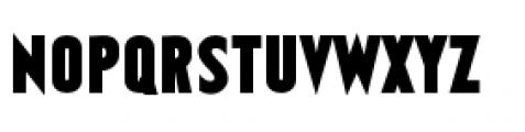 Earthman Heavy BB Regular Font UPPERCASE