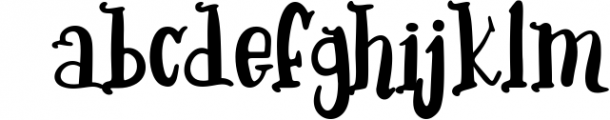 Early Age-kind font Font LOWERCASE