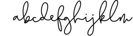 Earthy - A Handwritten Script Font Font LOWERCASE