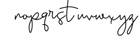 Earthy A Handwritten Script Font Font