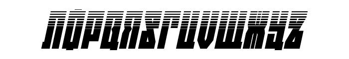 EAST-west Halftone Italic Font UPPERCASE