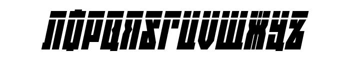 EAST-west Laser Italic Font UPPERCASE