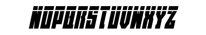 EAST-west Laser Italic Font LOWERCASE