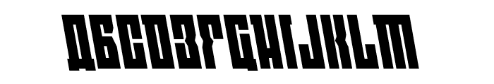 EAST-west Leftalic Font UPPERCASE