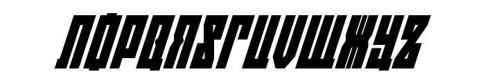 EAST-west Super-Italic Font UPPERCASE