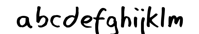 Eager Naturalist Font LOWERCASE