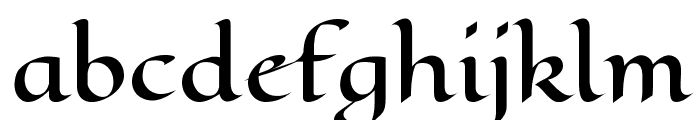 Eagle Lake Font LOWERCASE