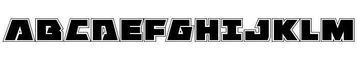 Eagle Strike Academy Font UPPERCASE