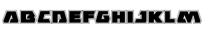 Eagle Strike Academy Font LOWERCASE