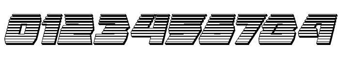 Eagle Strike Chrome Italic Font OTHER CHARS