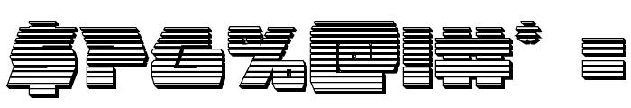 Eagle Strike Chrome Font OTHER CHARS