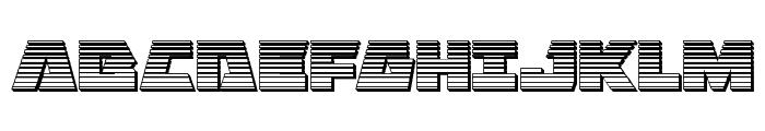 Eagle Strike Chrome Font UPPERCASE