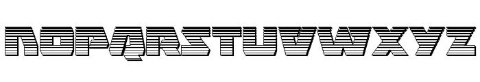 Eagle Strike Chrome Font LOWERCASE