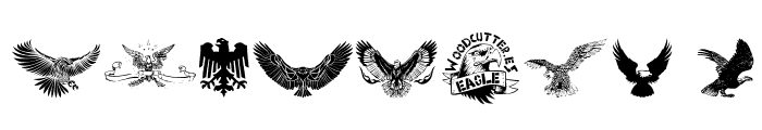 Eagle Font OTHER CHARS