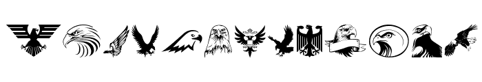 Eagle Font UPPERCASE