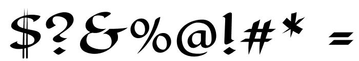 EagleLake-Regular Font OTHER CHARS