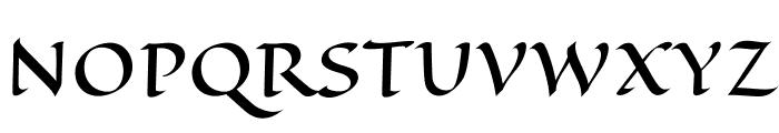 EagleLake-Regular Font UPPERCASE