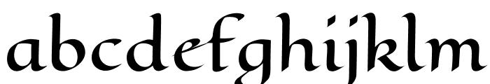 EagleLake-Regular Font LOWERCASE