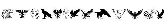 Eagle Font LOWERCASE