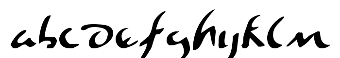 Eagleclaw Font LOWERCASE