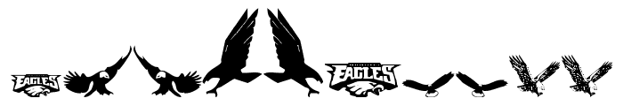 Eaglemania Font OTHER CHARS