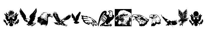 Eaglemania Font LOWERCASE
