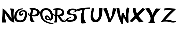Early Halloween Adventures Font LOWERCASE