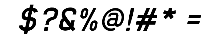Early Times Bold Italic Demo Font OTHER CHARS