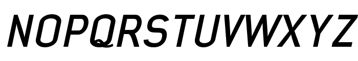 Early Times Bold Italic Demo Font UPPERCASE