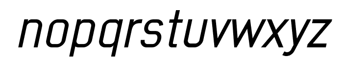 Early Times Demo Italic Font LOWERCASE