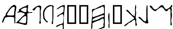 Early Western Greek Font LOWERCASE