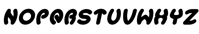 Earth Heart Italic Font UPPERCASE