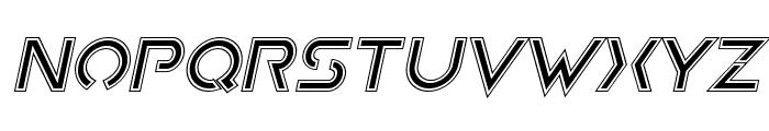 Earth Orbiter Academy Italic Font LOWERCASE