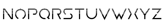 Earth Orbiter Halftone Font LOWERCASE