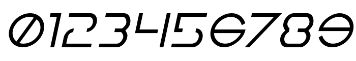 Earth Orbiter Italic Font OTHER CHARS