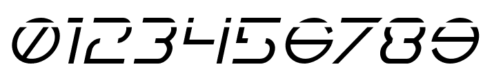 Earth Orbiter Laser Italic Font OTHER CHARS