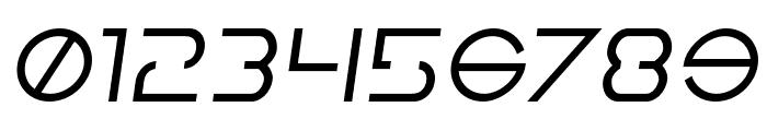 Earth Orbiter Semi-Italic Font OTHER CHARS