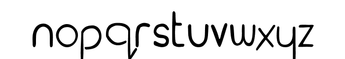 Earth Font LOWERCASE