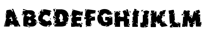 Earthquake MF Font UPPERCASE
