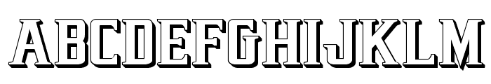 Earthrealm 3D Font UPPERCASE