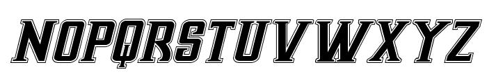 Earthrealm Academy Italic Font UPPERCASE